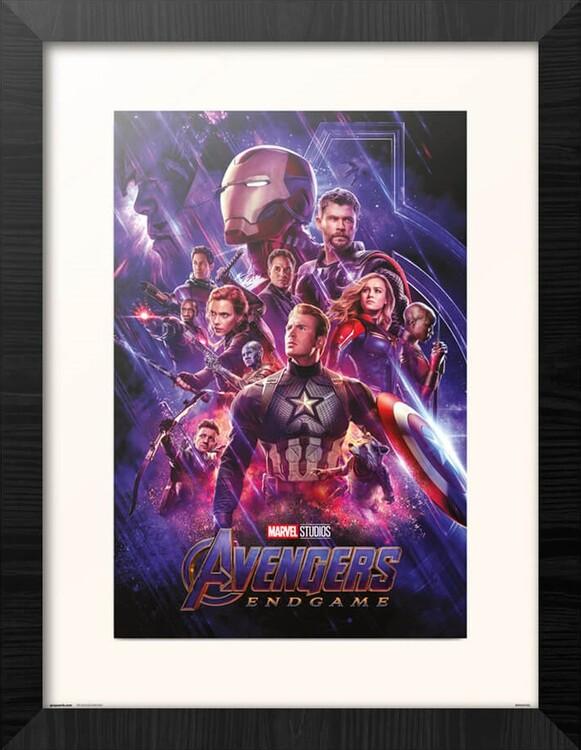 Framed poster Avengers: Endgame - One Sheet