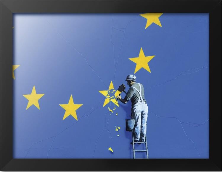 Framed poster Banksy - Dover