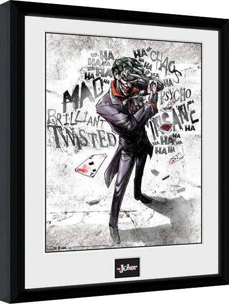 Batman Comic - Joker Type Framed poster   Buy at Europosters