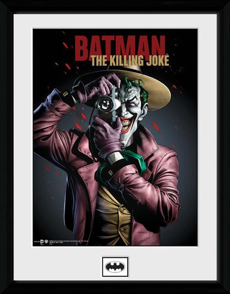 Framed poster Batman Comic - Kiling Joke Portrait