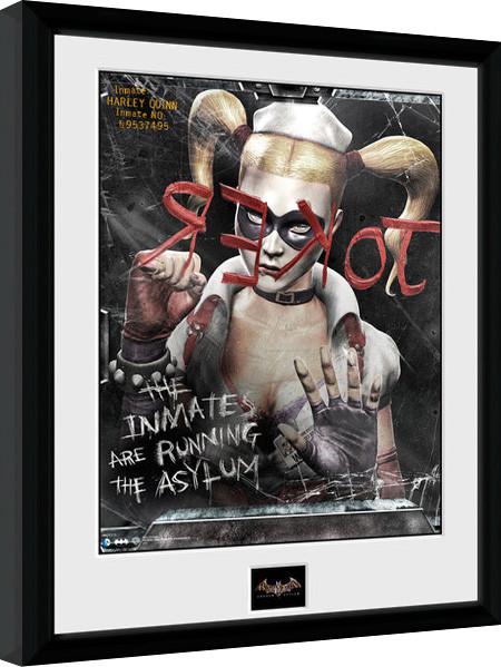 Batman Comic - Mirror Framed poster