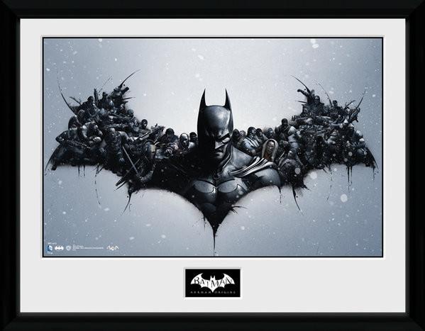 Batman Comic - Origins Framed poster