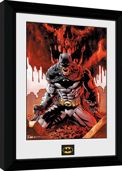 Batman Comic - Seeing Red Framed poster