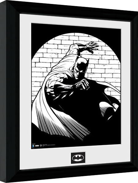 Batman Comic - Spotlight Framed poster