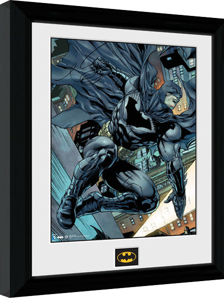 Framed poster Batman Comic - Swing