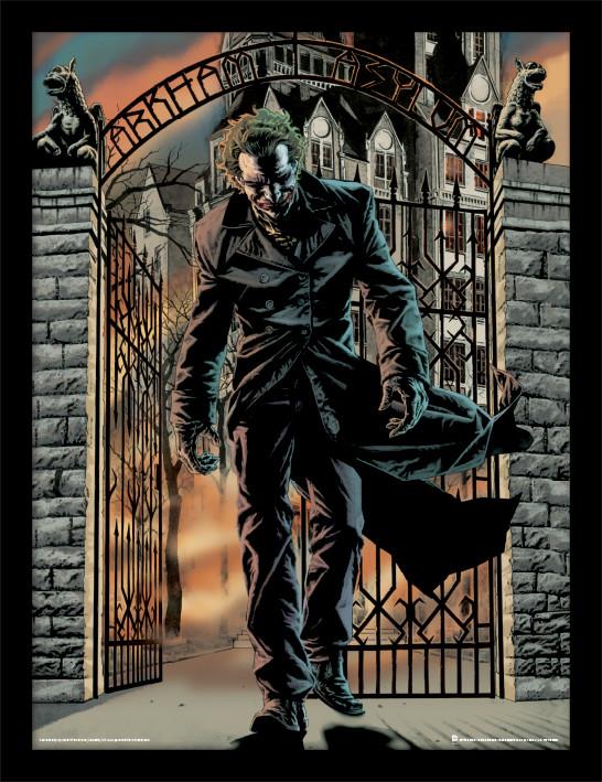 Framed poster Batman - The Joker Released