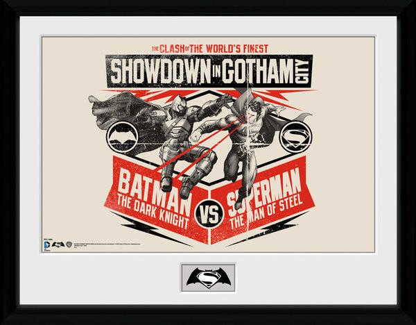 Batman Vs Superman - Battle Framed poster