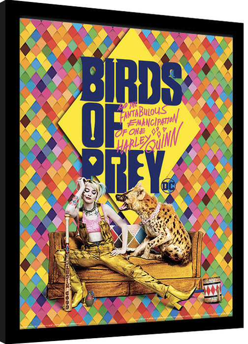 Framed poster Birds Of Prey: And the Fantabulous Emancipation Of One Harley Quinn - Harley's Hyena