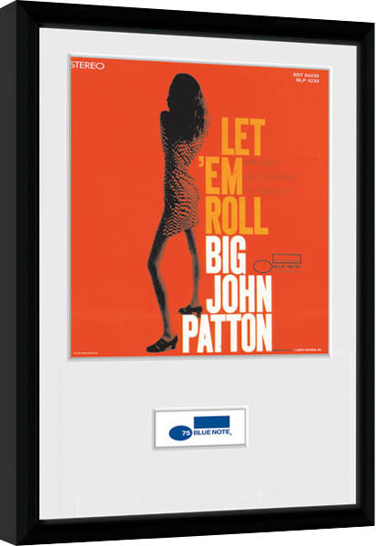 Blue Note - Patton Framed poster