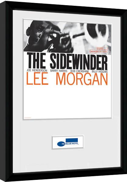 Blue Note - Sidewinder Framed poster