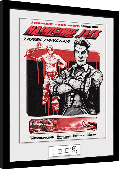 Borderlands 3 Handsome Jack Framed Poster Buy At Europosters