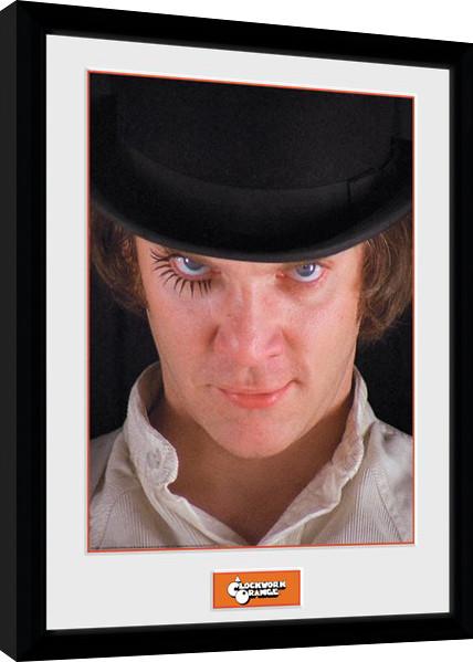 Framed poster Clockwork Orange - Alex