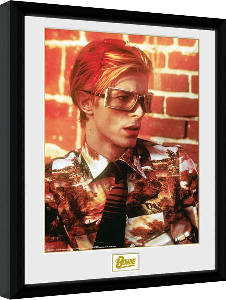 Framed poster David Bowie - Glasses