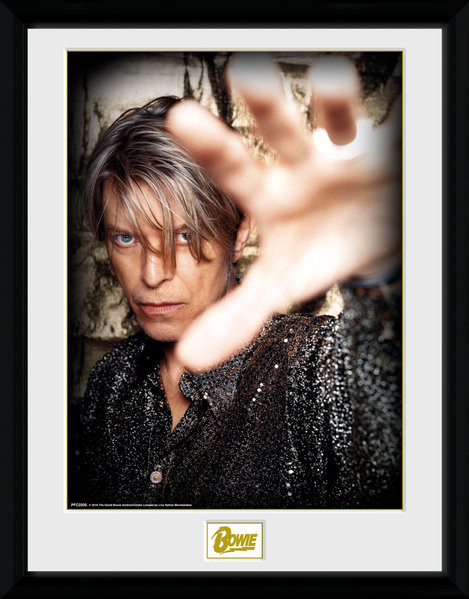 Framed poster David Bowie - Hand