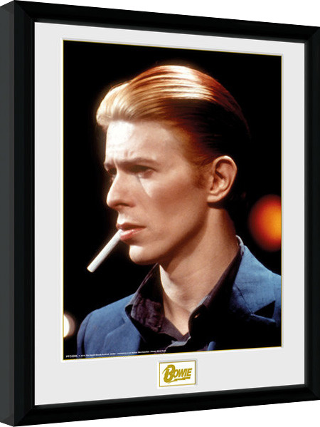 David Bowie - Smoke Framed poster