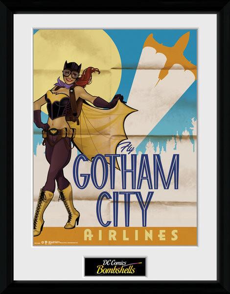 DC Comics - Batgirl Bombshells Framed poster