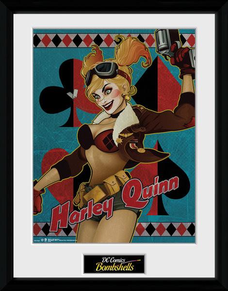 DC Comics - Harley Quinn Bombshells Framed poster