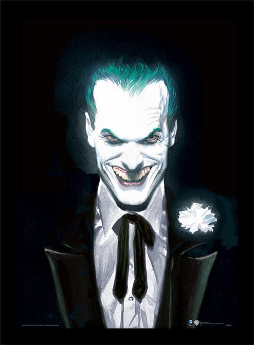 Framed poster DC Comics - Joker Suited