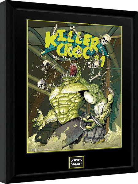 Framed poster DC Comics - Killer Croc Sewers