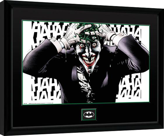 Framed poster DC Comics - Killing Joke