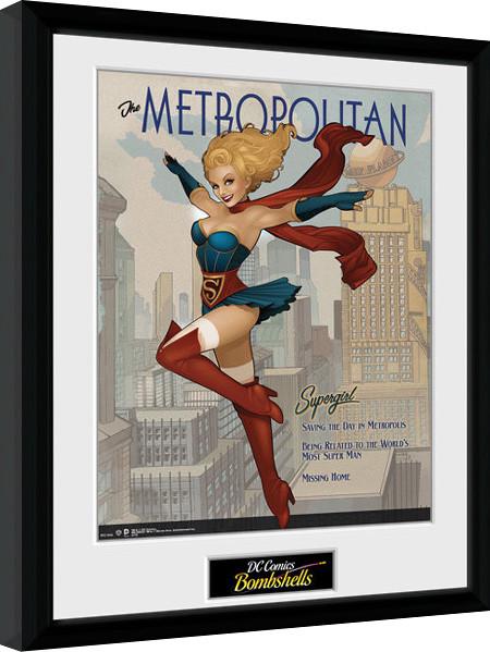 DC Comics - Supergirl Bombshells Framed poster