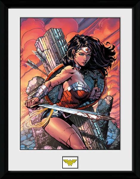 DC Comics - Wonder Woman Sword Framed poster