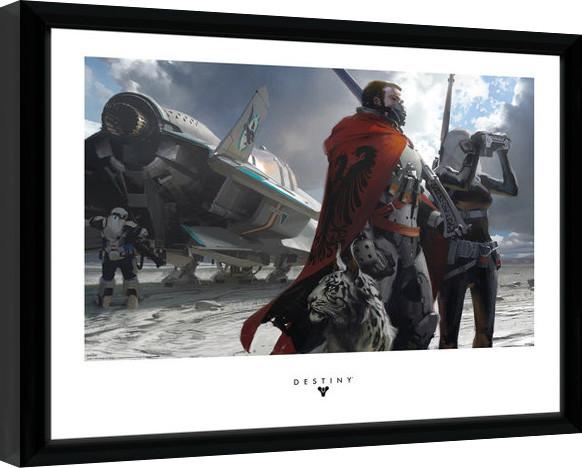 Destiny - Guardians Framed poster