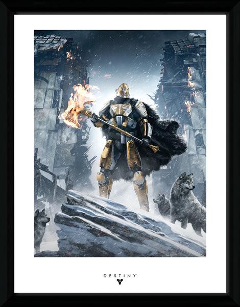 Destiny - Rise of Iron Framed poster