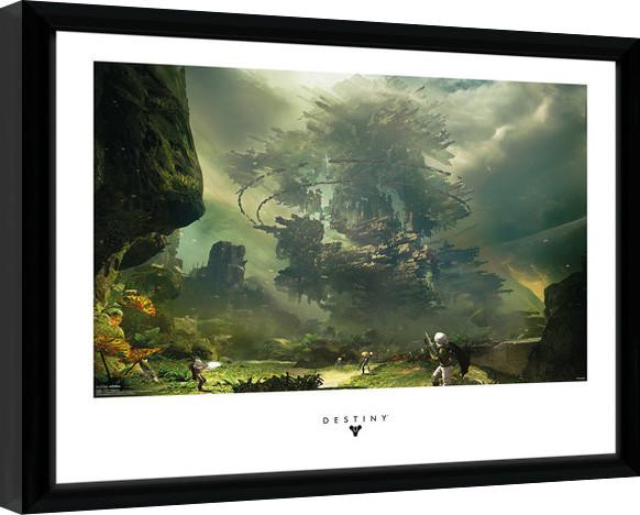 Destiny - The Fortress Framed poster