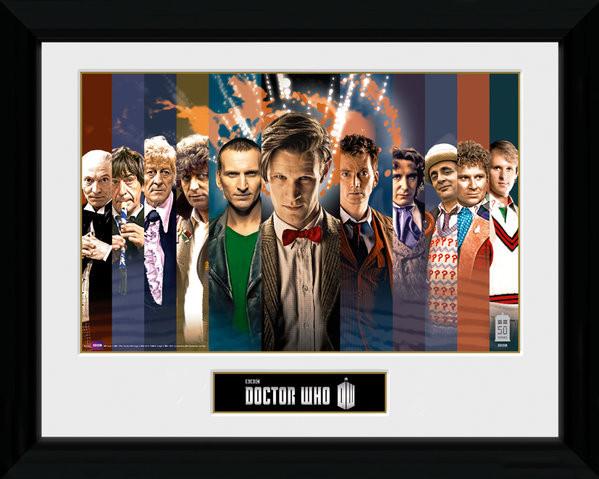 Doctor Who - 11 Doctors Framed poster
