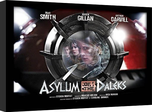 DOCTOR WHO - asylum of daleks Framed poster