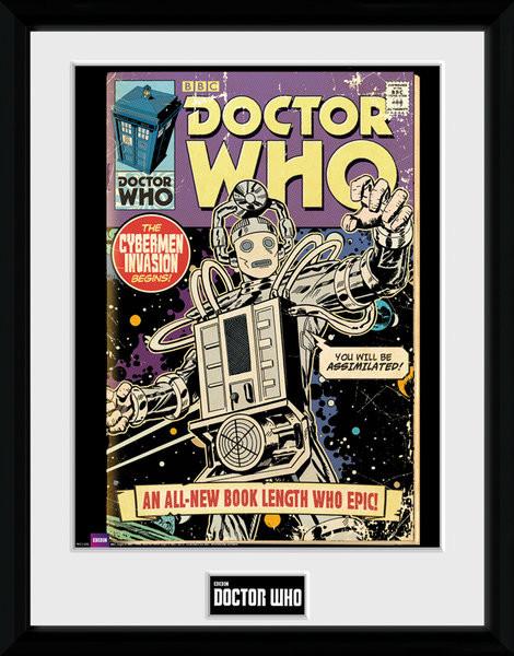 Doctor Who - Cybermen Comic Framed poster