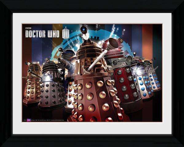Doctor Who - Daleks Framed poster