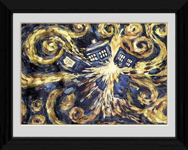 Doctor Who - Exploding Tardis Framed poster