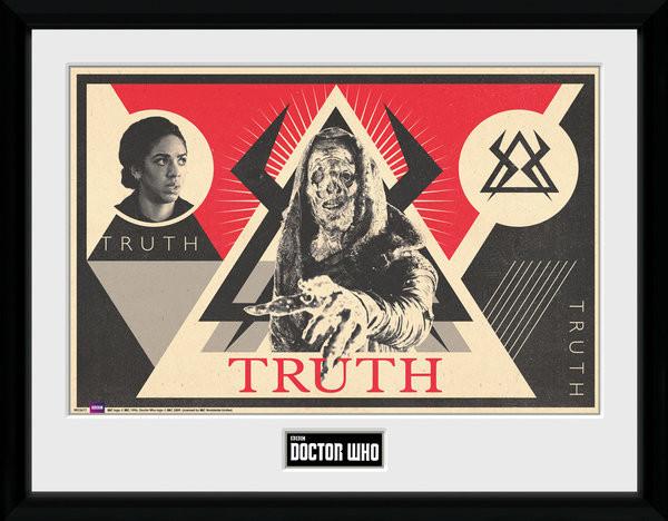 Framed poster Doctor Who - Monk