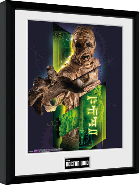 Framed poster Doctor Who - Mummy