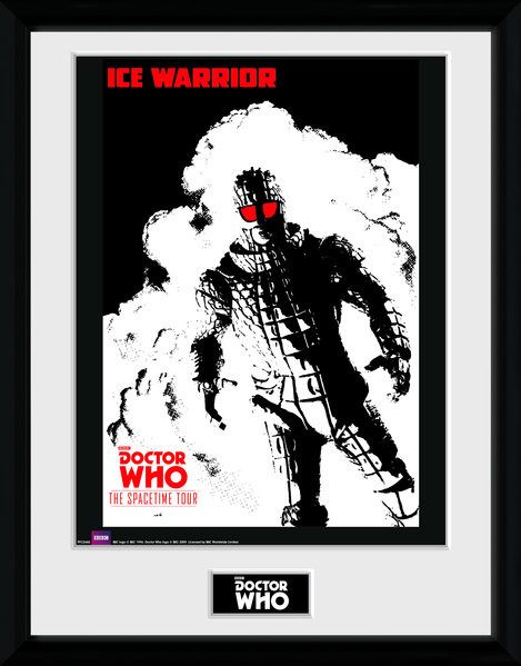 Doctor Who - Spacetime Tour Ice Warrior Framed poster