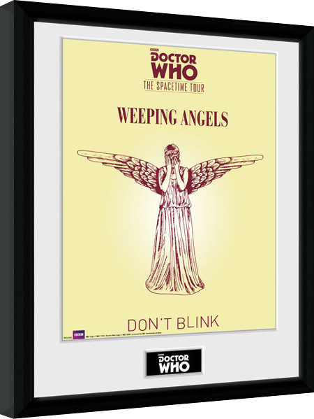 Doctor Who - Spacetime Tour Weeping Angels Framed poster