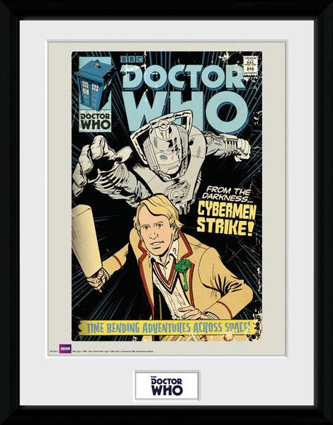Framed poster Doctor Who - Strike