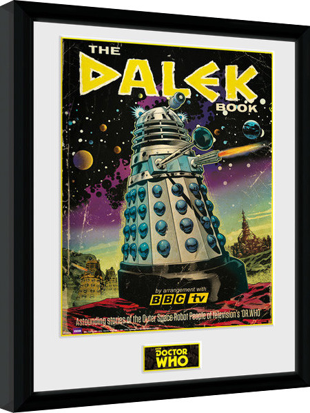 Framed poster Doctor Who - The Dalek Book