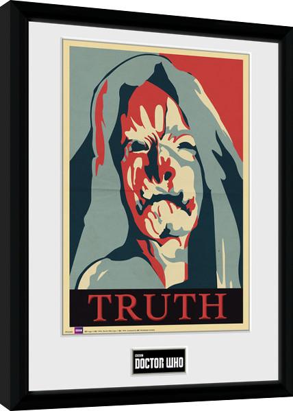 Framed poster Doctor Who - Truth
