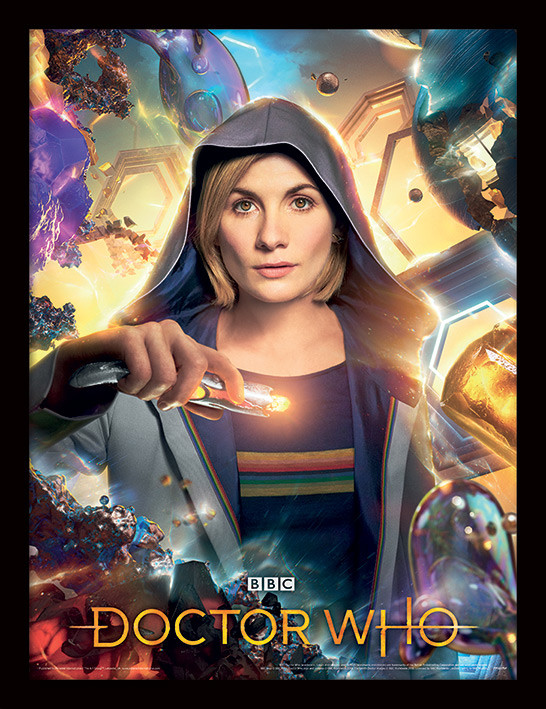 Framed poster Doctor Who - Universe Is Calling