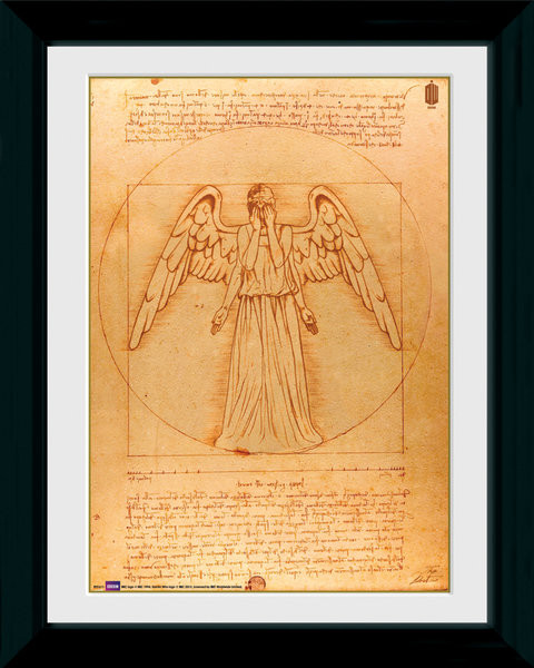 Doctor Who - Weeping Angel Framed poster