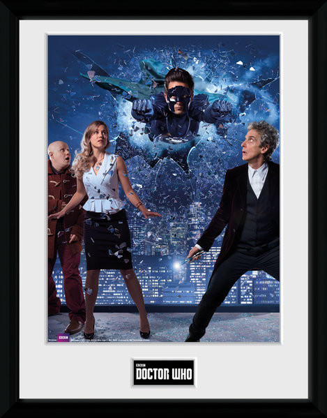 Framed poster Doctor Who - Xmas Iconic 2016