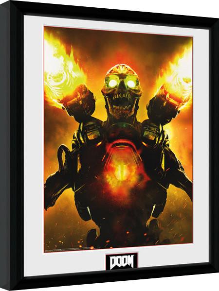 Framed poster Doom - Key Art