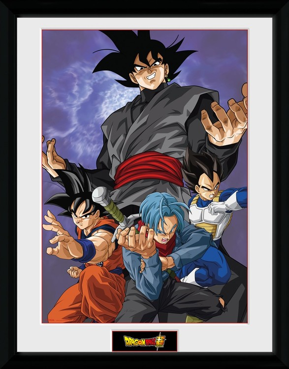 Framed poster Dragon Ball Super - Future Group