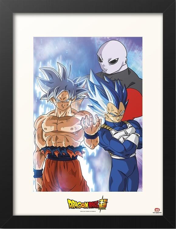 Framed poster Dragon Ball - Super Jiren