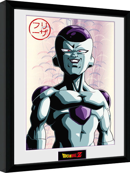 Framed poster Dragon Ball Z - Frieza