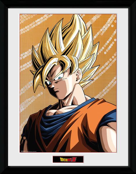 Framed poster Dragon Ball Z - Goku