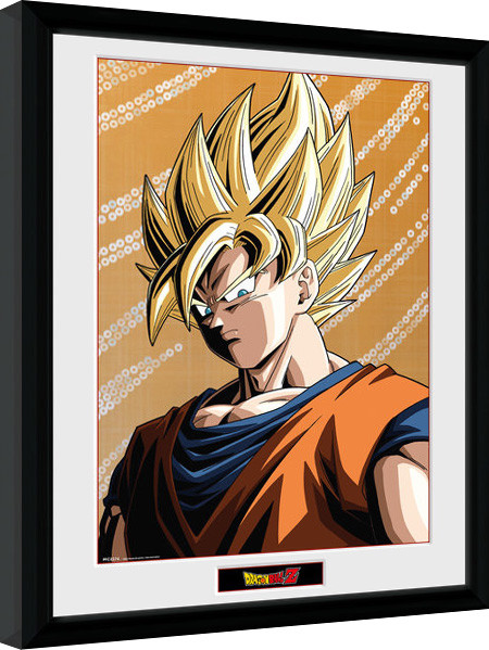 dragon ball z goku framed poster buy at europosters